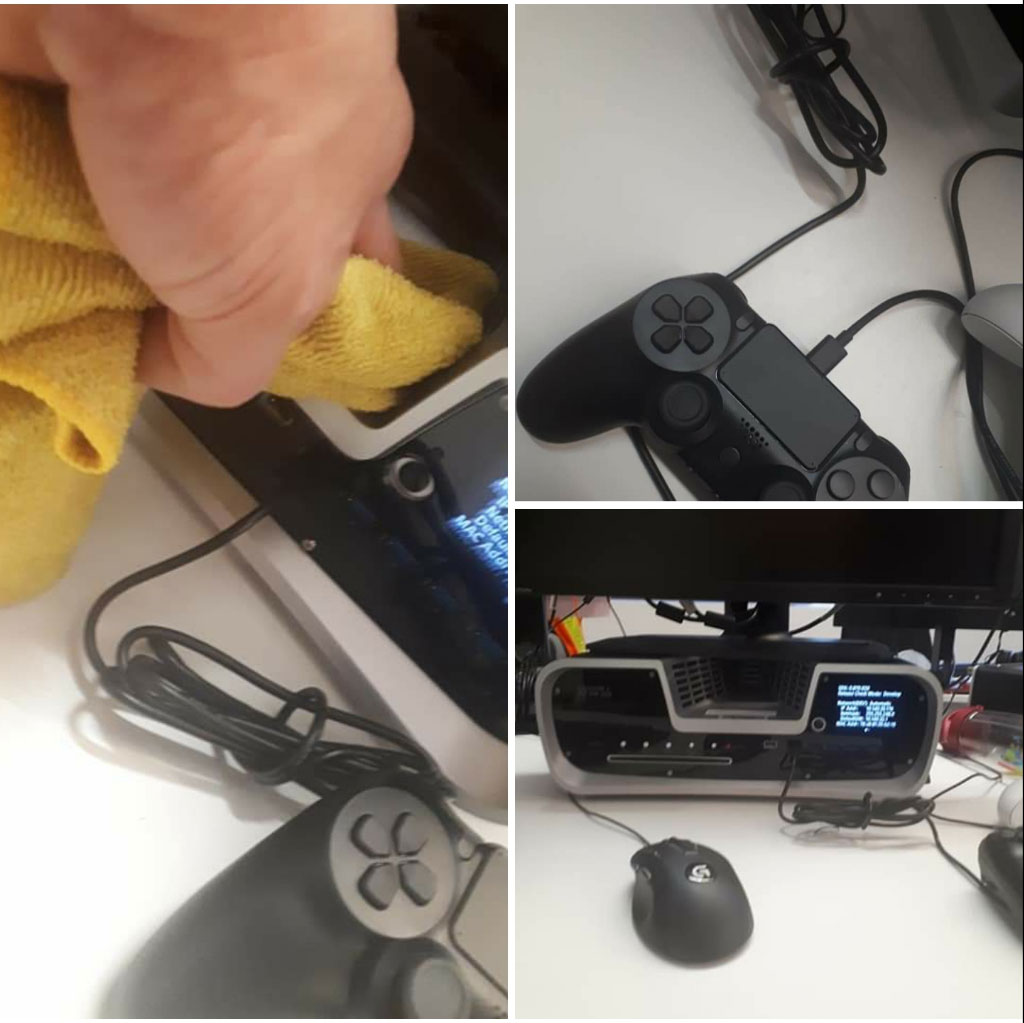 First Real Photo of PS5 DualShock 5